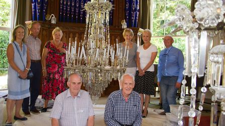 Sidholme chandelier restoration. Ref shs 30 17TI 8035. Picture: Terry Ife