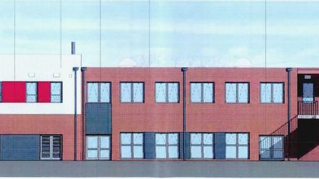 The design for the rebuilt Newton Poppleford Primary School
