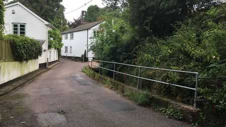 Furzebrook in Ottery St Mary has been earmarked as part of a government scheme to reduce flooding in