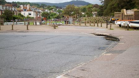 The turning circle at The Ham. Ref shs 30-17TI 8275. Picture: Terry Ife