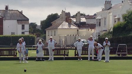 Action from a recent match at Sidmouth