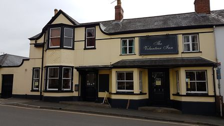 The Volunteer Inn in Temple Street, Sidmouth. Sidmouth Herald.