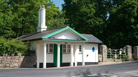 The early 19th century toll house on Salcombe Road, marks the start of The Byes Riverside Park.
