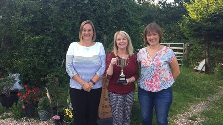 Members of the Sidmouth Toucans team that won the Honiton Netball League Division Two title