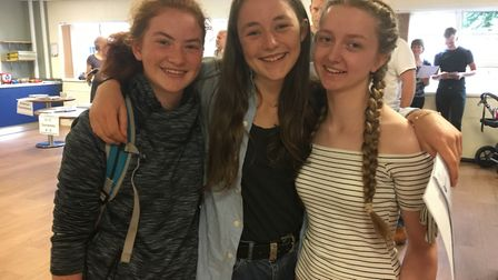 Tegen Harris, Meg Somers and Eleanor Baden all achieved great GCSE results.