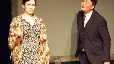Gillian Horgan and Luke MacLeod played a variety of roles in 'She Moved Through The Fair' - the stor