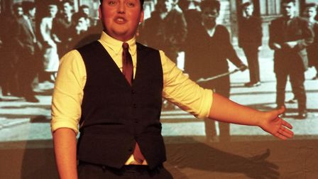 Luke MacLeod played a variety of roles in 'She Moved Through The Fair' - the story of Irish folk sin