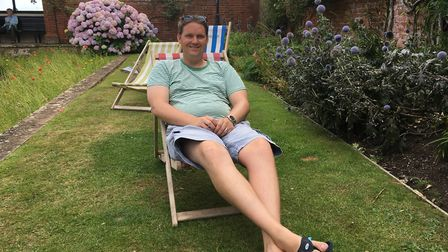 Adam Davis has taken over running the deck chairs in Sidmouth.