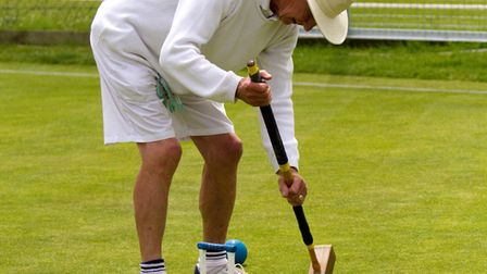 Sidmouth Croquet. Ref shsp 27 17TI 6447. Picture: Terry Ife