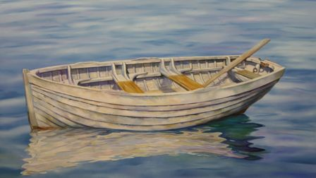 One of the paintings which will be on display.