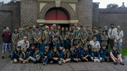 A group of 54 scouts, explorers and adult volunteers from Ottery went to Holland for a nine day trip