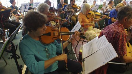 A musical workshop. Picture: Sue Willey LRPS