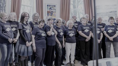 Sidmouth Sea Fest Community Choir will perform as part of an event on Monday.