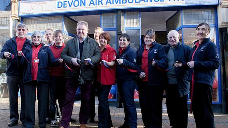 Devon Air Ambulance is looking for new volunteers to join its teams. The charity has shops in Sidmou