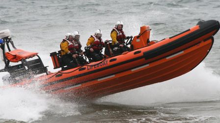 Sidmouth Lifeboat was put on standby at the incident on Sidmouth seafront last night (August 2).