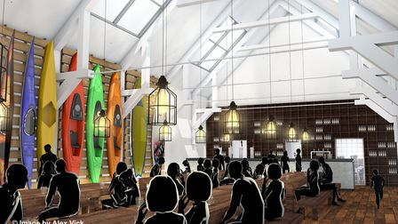 Architect Alex Vick has created these designs of how Sidmouth Drill Hall could look. Sidmouth Herald