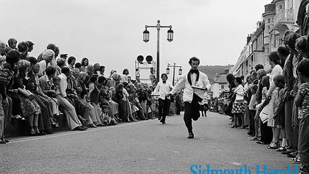 Sidmouth Regatta 2/9/78. Ref shs Sidmouth Regatta Nost 1978-1. Picture: Sidmouth Herald archive