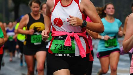 Jo Earlam is running a series of half marathons from Bristol to Exeter to raise money for dementia r