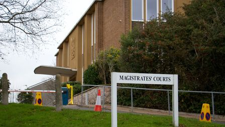 Exeter magistrates court. Ref exe 01-17TI 4928. Picture: Terry Ife