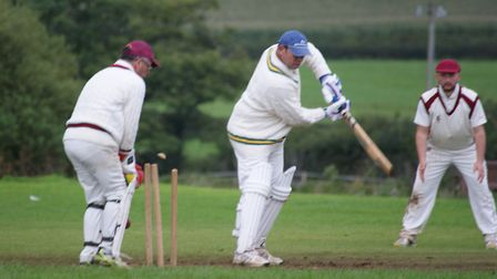 Tipton batsman Dickie Dawson bags a first ball 'golden duck'