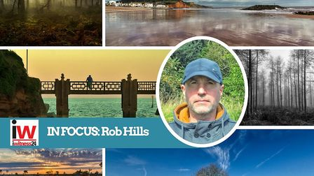 Rob Hills from Sidmouth is this week's featured iwitness24 member.