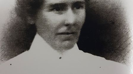 Red Cross nurse Mary Tindall was the only serving Sidmouth woman to die in World War One. Photo cour
