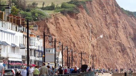 Sidmouth seafront. Ref shs 3905-30-15AW. Picture: Alex Walton