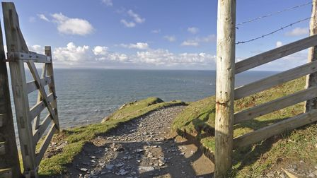 Southwest Coast Path at Baggy Point