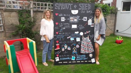Mums Francesca Bayly and Jen Knowles are launching Sprout + Shed, an online marketplace for parents