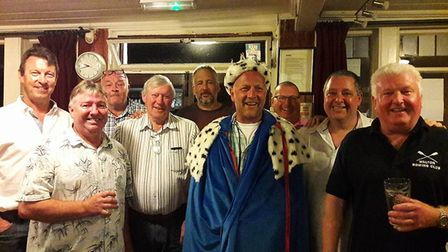 Gareth Topping has been named Sidmouth's new King of Chit