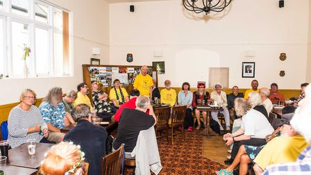 Middle Bar Singers raised more than £1,100 for Sidmouth Lifeboat.