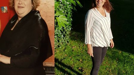 Mum-of-four Marissa Unsworth reached the regional final of the Slimming World Woman of the Year comp