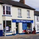 Beer village stores. Ref shb 35 17TI 0457. Picture: Terry Ife