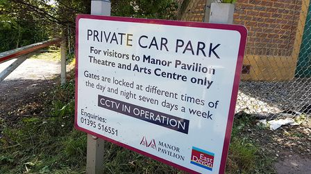 The Manor Pavilion Car Park