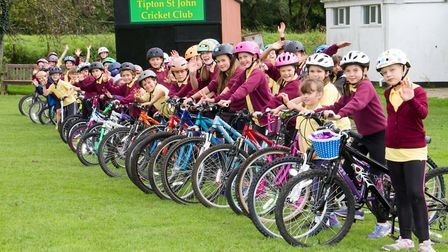 Wheely day at Tipton St John primary school. Ref shs 39-17TI 1343. Picture: Terry Ife