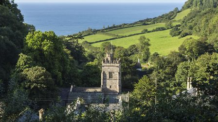 St Mary and St Peter's church, Salcombe Regis.Photo by Tony Charnock