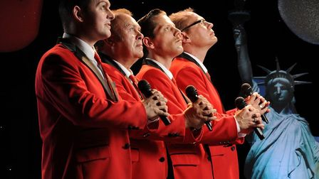 The New Jersey Boys are coming back to Sidmouth by popular demand