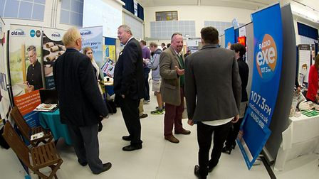 Delegates and exhibitors at last year's Means Business Show.