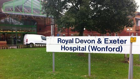 The Royal Devon and Exeter hospital. Picture by Alex Walton. Ref mhh 0685-43-12AW