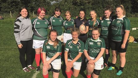 Sidmouth ladies Under-18 team