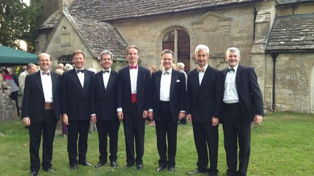 The Close Shaves will perform at a fundraising concert for the Friends of Salcombe Regis Church