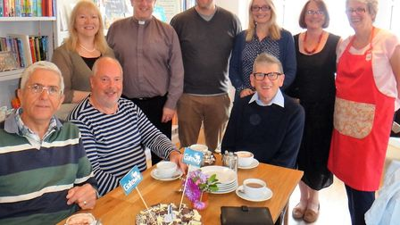 Gateway volunteers and supporters at its first birthday celebrations