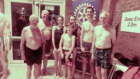 Sidmouth Golf Club at the swimathon