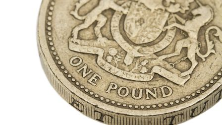 The old one pound coin is going out of circulation