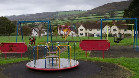 Furzebrook play park. Ref shs 43 17TI 2360. Picture: Terry Ife