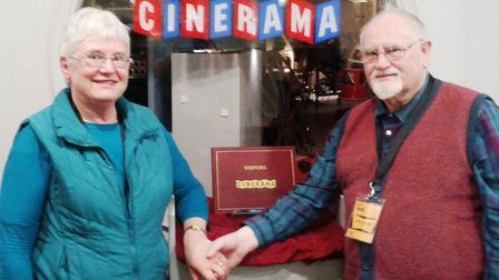 Joan and Mike Edgecumbe at the National Science and Media Museum last year