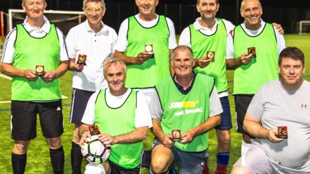 Back row Ken Cartwright, Tim Shardlow, Andy Hardy, Mike Touhy, Rob Clarke Front row Ken Barley, Mike