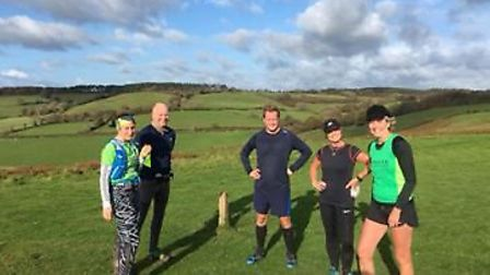 Sidmouth Running Club group