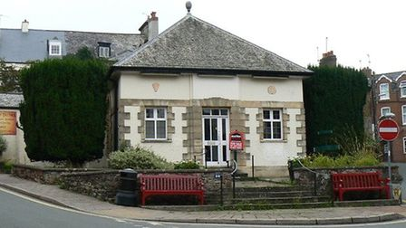 The Old NatWest building is the new home of Ottery Library