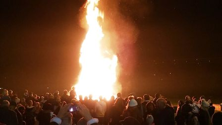 Bonfire night in Newton Poppleford was said to be its 'best yet'